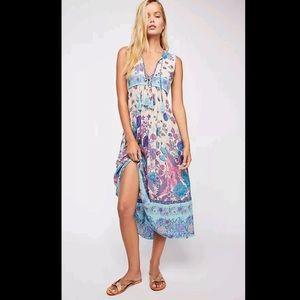 Mermaid Siren Song Dress Midi